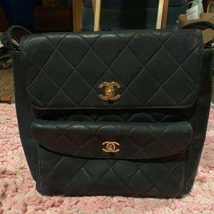 authentic vintage Chanel bag - rare needs some TLC